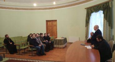 Установочная встреча Витебской студенческой группы