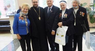 Встреча участников команды проекта «Жемчужное ожерелье Святой Руси» с ветеранами