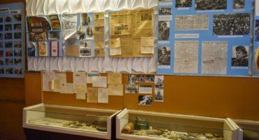 Музейная экспозиция Соловьёва переправа