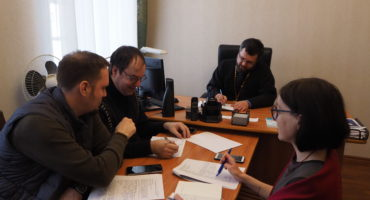 Рабочая встреча с научным куратором проекта Демьяном Валерьевичем Валуевым