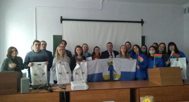 Встреча витебских студентов-участников проекта «Жемчужное ожерелье Святой Руси» в Ушачском районе