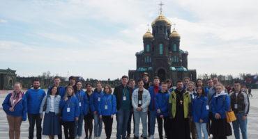 Участники проекта «Жемчужное ожерелье Святой Руси» посетили музейный комплекс Главного храма ВС РФ
